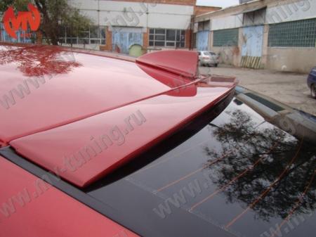 АБС-пластик Козырек на стекло Hyundai Solaris